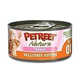 Petreet Natura Le Vellutate Kitten con Tonno gr 60