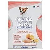 Monge Special Dog Excellence Alimento Completo per Cani Adulti di Taglia Piccola con Riso, Semi di Lino e Agrumi, 800g