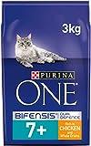 Purina One - Pollo e grani interi, 3 kg (confezione da 4)