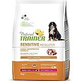 Trainer Sensitive No Gluten Puppy & Junior Medium Maxi Anatra 12 kg