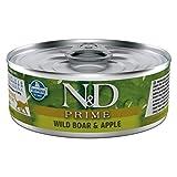 Farmina Natural & Delicious Feline Prime con Cinghiale e Mela 80 gr Umido