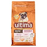Ultima Cibo per Cani Mini Sensitive con Salmone e Riso - 1,5 kg