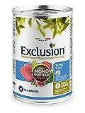 Exclusion MONOPROTEICO TONNO 400 GR X 6