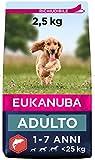 Eukanuba Cibo Secco Per Cani Adulti Di Taglia Piccola E Media, Ricco Di Salmone E Orzo - 2,5 kg