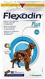 Vetoquinol Flexadin Plus Max Confezione con 90compresse di alimento complementare dietetico prescritto per cani