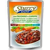 Stuzzy Dog Buste Tacchino/Carote Gr 100