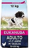 Eukanuba Cibo Secco per Cani Adulti Attivi di Taglia Media, Ricco di Pollo Fresco