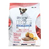Media Wave Store - 800g Special Dog Excellence Mini Adult Pollo con Riso e Semi di Lino e agrumi