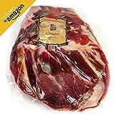 Prosciutto Spagnolo Serrano (Spalla) Disossato Pulito Circa 1 KG | Jamon Serrano (Paleta) 100% Naturale con Sale Marino del Mediterraneo