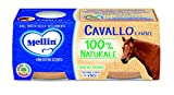 Mellin Omogeneizzato di Cavallo e Patate 100% Naturale – 24 Vasetti da 80 gr
