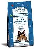MCKERK crocchette cane dog medium adult maxi secco monoproteico tonno melograno con yucca schidigera e rosa canina 12 kg