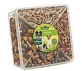 Dehner - Sacco per cani, Snackbox Jumbo, 4 mix di varietà, 1,2 kg