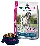 Eukanuba Nature Plus GRAIN FREE - Crocchette ricche di Salmone per Cani Adulti - 2.3 Kg