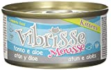 Croci Vibrisse Kitten Mousse Tonno con Aloe - 70 gr
