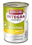 animonda Integra Protect Intestinal Cane, cibo dietetico per cani, alimento umido in caso di diarrea o vomito, puro tacchino, 6 x 400 g
