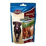 TRIXIE Premio fish chicken wraps 80gr - Snack e biscotti cane ossa