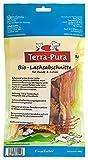 TERRA-PURA - Alimento per animali con sezione di salmone biologico, essiccato, spuntino per cani e gatti, ideale per barf; 200 g