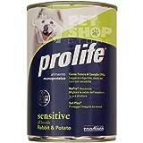 ProLife - PROLIFE WET DOG SENSITIVE CONIGLIO & PATATE 400 GR. - 2246