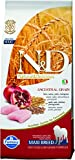 N&d low grain N& d Low Grain Maxi con Pollo e Melograno Secco Cane kg. 12, Multicolore, Unica, 12000 unità
