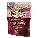 Carnilove Feline Kitten Salmon & Pavo - 400 gr