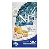 Famina N&D Ocean Feline Adult Merluzzo Farro Avena e Arancia 1,5 kg