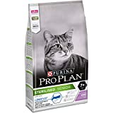 Purina Pro Plan Sterilised 7+ Gatto, Crocchette Ricco in Tacchino, 6 Sacchi da 1.5 kg