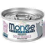 Monge Monoprotein Cat Pezzetti Solo Maiale 80 g.