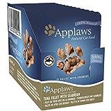 Applaws Cat Food Pouch, Tonno con orata, 12x 70g