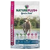 EUKANUBA Nature Plus Puppy & Junior all Breed Salmon Grain Free per Cani Cuccioli e Giovani di Tutte Le Taglie con Salmone - 10 kg