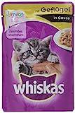 Whiskas 62902 Mangime per gatti Junior, Confezione da 24 x 100 g