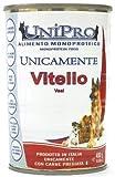Unipro Cane, Solo Vitello Monoproteico Gr. 400