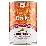 almo nature Dailymenu con Manzo Umido Gatto Premium - Confezione da 24 x 400 g