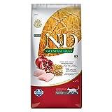 Farmina (Russo Mangimi) - Natural & Delicious Low Ancestral Grain Adult con Pollo e Melograno 1 Sacco 5,00 kg