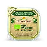 Almo Nature Bio Pate Dog con pollo e broccoli 300 g (confezione da 9)