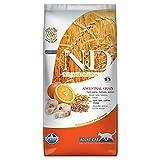 Farmina (Russo Mangimi) - Natural & Delicious Low Ancestral Grain Adult con Merluzzo e Arancia 1 Sacco 5,00 kg