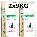 Royal Canin Urinary S/O Cat LP 34 - Mangime secco per gatti, 2 x 9 kg = 18 kg