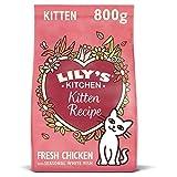 Lily's Kitchen–Crocchette sane e deliziose al pollo per gattini, 800g