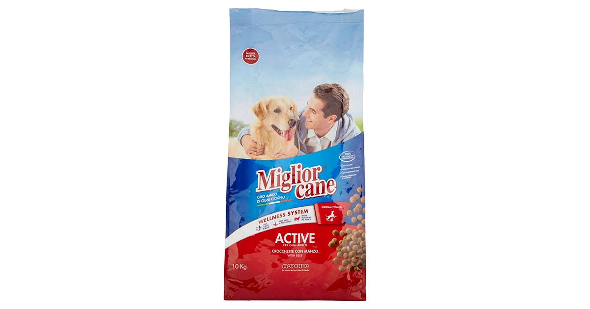 Miglior Cane Crocchette, Con Manzo – 10000 g